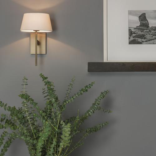 Astro Lighting 0940 San Marino Solo Wall Light In Bronze: San Marino Solo 0940