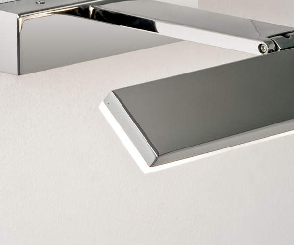 Astro Lighting 7009 Zip 3 Light Led Bathroom Over Mirror Wall Fitting In Polished Chrome: Zip 7009