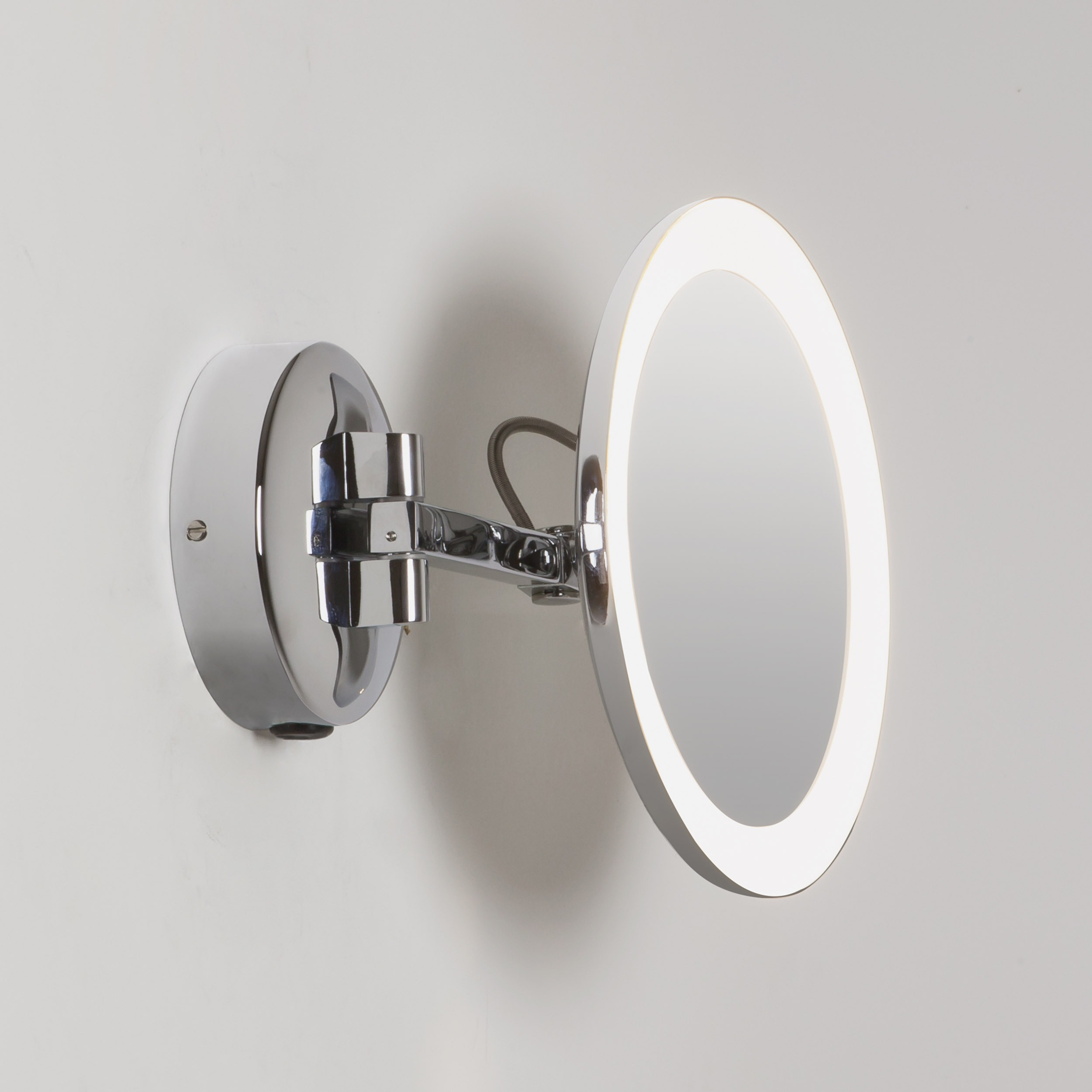 tempest main led with image bathroom shelf mirror designer